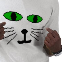 Cat Face T-Shirt T-shirt
