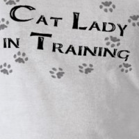 Cat Lady in Training T-shirt