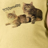 Cats Ladies T-Shirt PURRsonality T-shirt