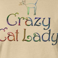 Crazy Cat Lady T-Shirt T-shirt