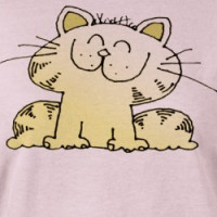 Cute Cartoon Kitty | Cute Kitty Cat T-shirt