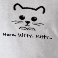 Here, kitty, kitty... T-shirt