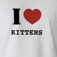 I heart Kittens T-shirt