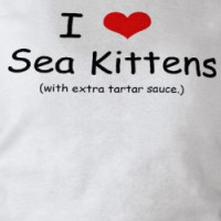 I Love Sea Kittens T-shirt