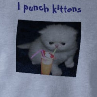 I punch kittens T-shirt