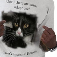 Janet's Rescues and Placements T-shirt