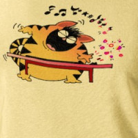 LOL Cats | Fat Musical Cat T-shirt