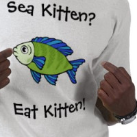 Sea Kitten?, Eat Kitten! T-shirt