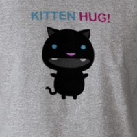 Ultra Kawaii - kittenhug tee! T-shirt
